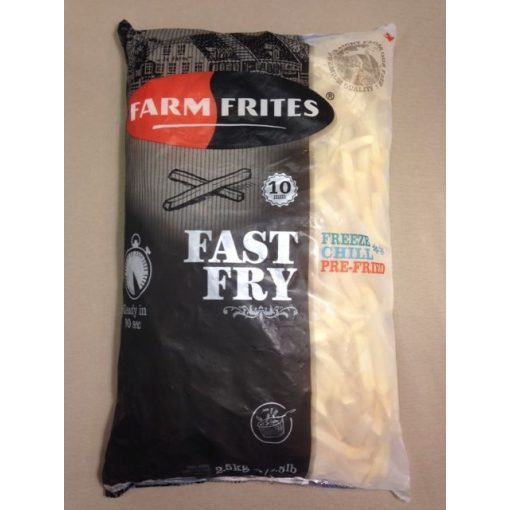 Farm Frites Fast Fry 90mp-es gyorsan süthető hasábburgonya (2,5 kg/csomag; 5 csomag/karton)