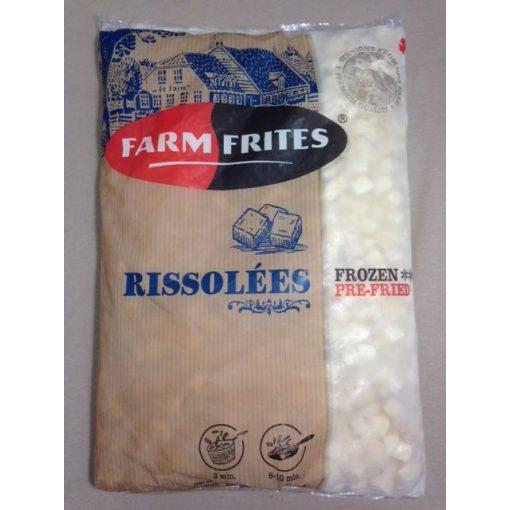 Farm Frites kocka burgonya (2,5 kg/csomag; 5 csomag/karton)