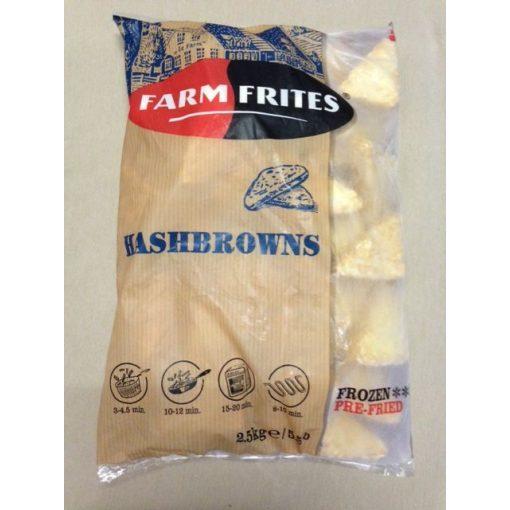 Farm Frites röszti háromszög burgonya (2,5 kg/csomag; 5 csomag/karton)