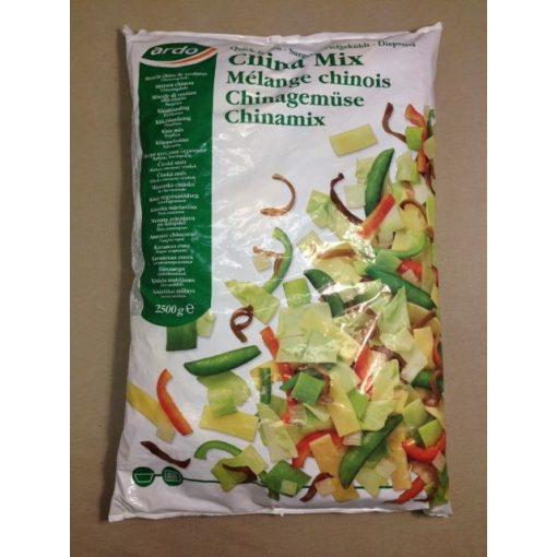 ARDO Gyorsfagyasztott Kínai zöldségmix (2,5 kg/csomag; 4 csomag/karton)