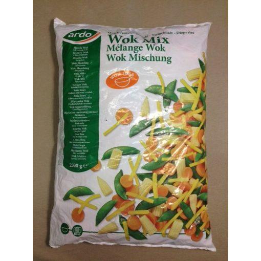ARDO Gyorsfagyasztott Wok zöldségmix (2,5 kg/csomag; 4 csomag/karton)