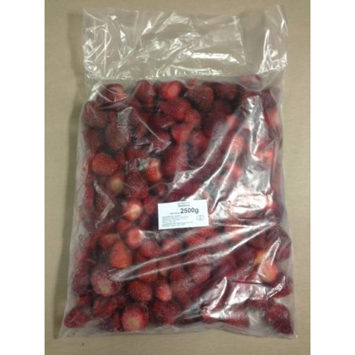 Gyorsfagyasztott eper (2,5 kg/csomag; 4 csomag/karton)