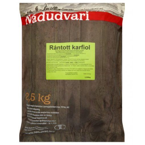 Rántott karfiol Nádudvari  (2,5kg/csomag)