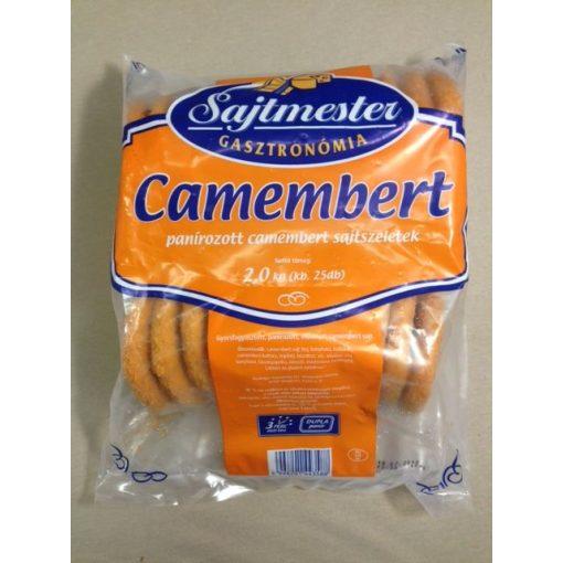 Panírozott camembert szelet (2kg/csomag)