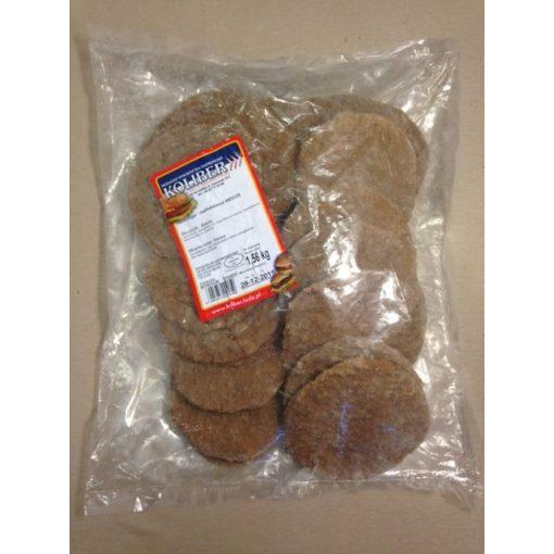 Gyorsfagyasztott hamburger húspogácsa marhahússal (24db/csomag)