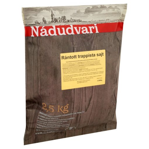 Panírozott Trappista szelet Nádudvari (2,5 kg/csomag)