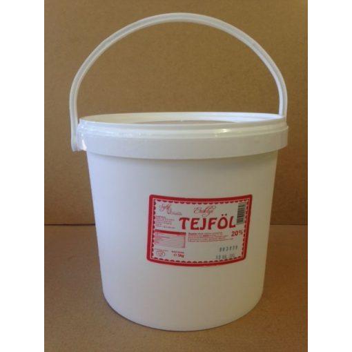 Vödrös tejföl 20% (5liter/vödör)