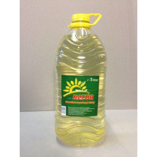 Natúr napraforgó olaj 5 l