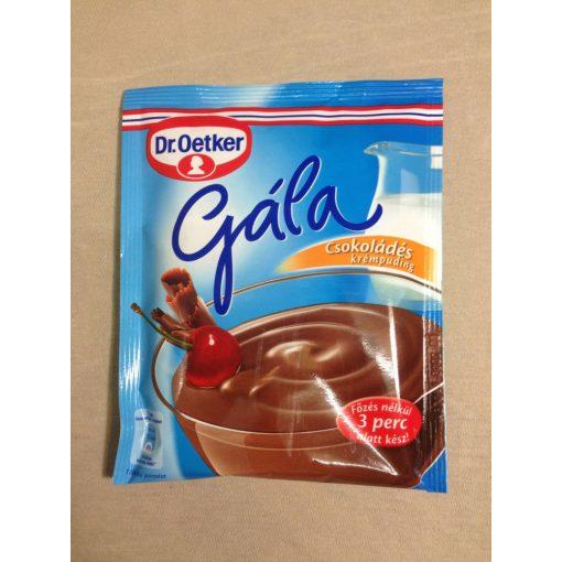 Gála csokoládé ízű krémpuding (104gr)