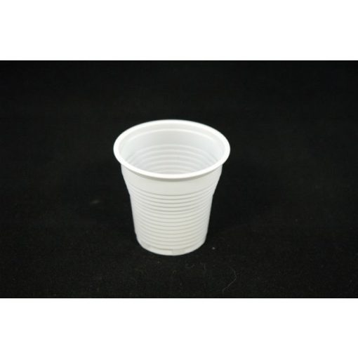 Műanyag pohár 1 dl fehér