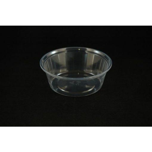 Kerektál víztiszta 500 ml + tető