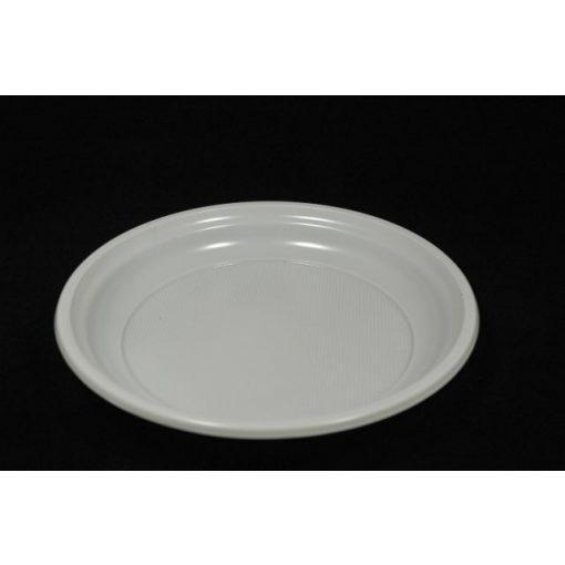Műanyag tányér 1 részes