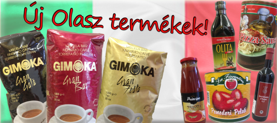 Új olasz termékek!