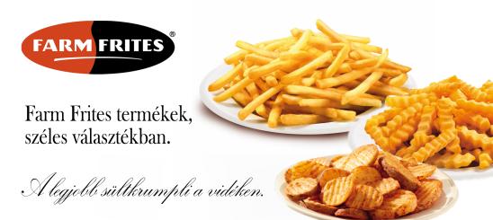 Farm Frites termékek